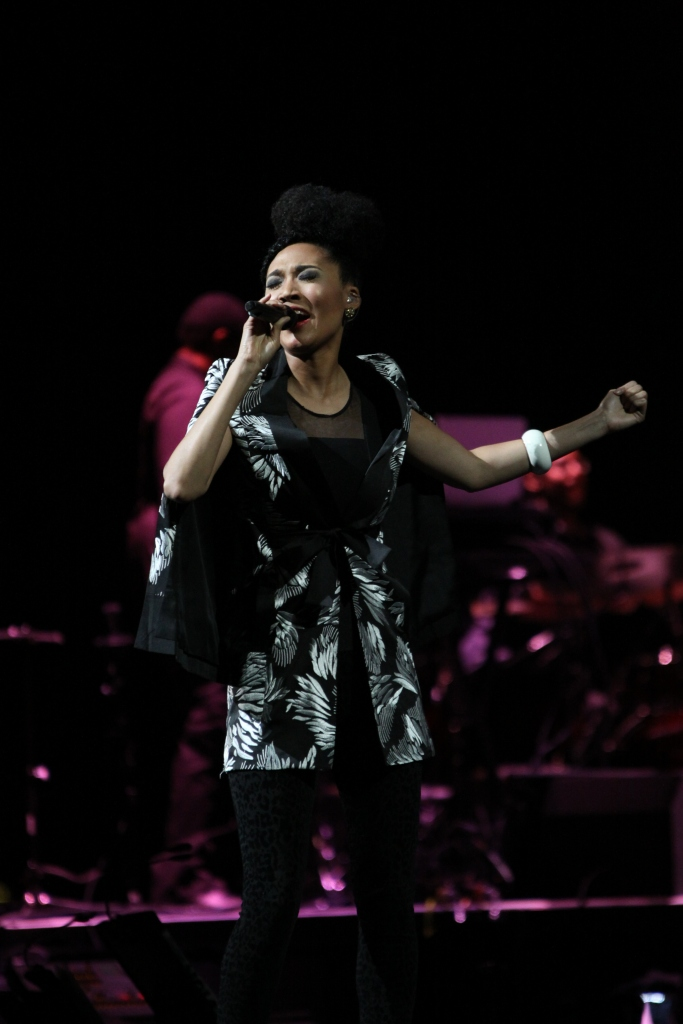 Judith Hill-Opening Singer  In the Round Tour Toyota Center, Houston November 13,2013 Taken by Wylde Soul Photography