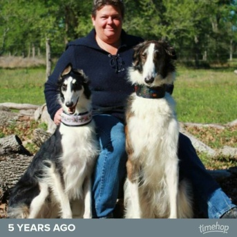 Dawn, Ridge and I at BYD Ranch & Kennel in 2007
